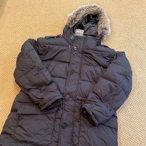 Brand new Lands end women's parka down jacket